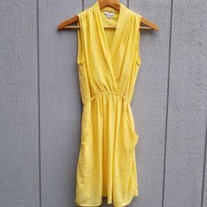 Bar lll Yellow Dress